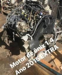 Motor 1.4 de ônix 2015/16 extra com garantia