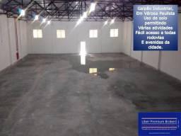 Galpão Industrial, 1033m² de área construída, venda e locação em Várzea Paulista-SP
