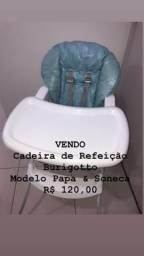 Cadeira de Refeição Burigotto modelo papa e soneca R$: 120
