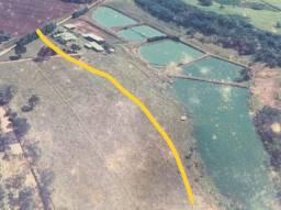 Área de 2 Alqueires para - Piscicultura ou Pesqueiro - Fundo Rio