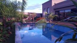 Casa com 4 dormitórios à venda, 450 m² por R$ 1.900.000,00 - Condomínio Recanto Rio Pardo