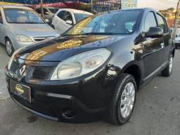 Renault Sandero 1.0 Flex Completo, Bonito E Conservado, Troca E Financia