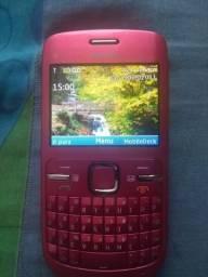 Celular Nokia C3 00 bem conservado funcionando perfeitamente