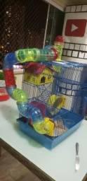 Gaiola 4 andares de luxo para hamster