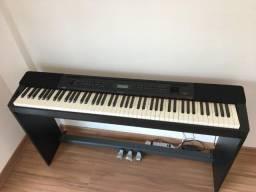 Vendo ou troco Piano Digital Casio PX-350m, Muito Novo!