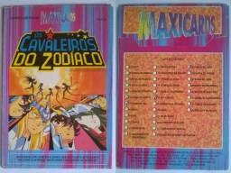 Maxicards Os Cavaleiros do Zodíaco