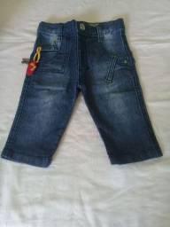 Calça jeans bebê p
