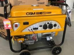 Gerador de Energia Portátil à Gasolina GM-5500 Monofásico 4 Tempos 11HP Bivolt - CSM