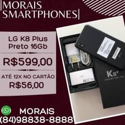 LG K8 Plus 16Gb Preto (APARELHO LACRADO COM NOTA E GARANTIA DE FÁBRICA)