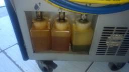 Recicladora automotiva ar condicionado