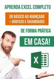 Promoção imperdível! Curso de Excel do básico ao avançado