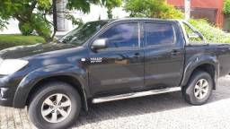 Hilux CD 2009, Gasolina, Manual, Único dono