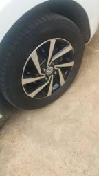 Vendo ou troco por 15. Rodas 14 com pneus
