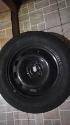 Rodas 15 pneus bem bom