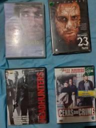 Vendo DVDs originais de filmes