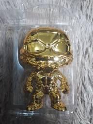 Funko pop ant-Man 384 Gold Chrome homem formiga dourado