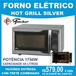 Forno Elétrico Hot Grill line Fischer 44 litros Potência 1750W