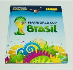 Album de figurinhas da copa de 2014