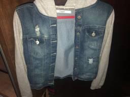 Jaqueta jeans seminova