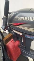 Yamaha 15 hp ano 2010 revisado acompanha tánque e capa