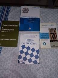 Livros de Direito/Concursos a partir de 20 reais.