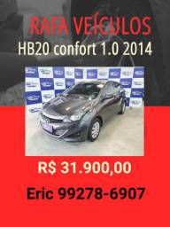 HB20 1.0 comfort 2014 R$ 31.900,00 - Eric Rafa Veículos opit7