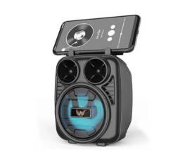 Caixa De Som Altomex Bluetooth,Pendrive Com Led Radio FM (entrega Grátis)