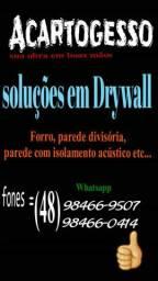 ACARTOGESSO Drywall(Gesso acartonado)