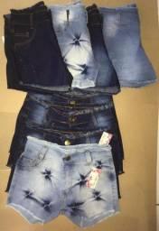 Short jeans FEM e camiseta MASC/ATACADO E VAREJO