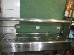 Vendo estufa + buffet