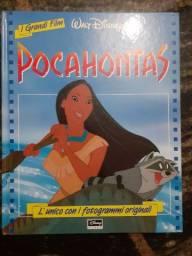 Livro Pocahontas Walt Disney Todo em Inglês