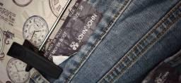 Jeans John John t. 38. Bordada.