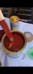 Título do anúncio: Tinta marron caravelas