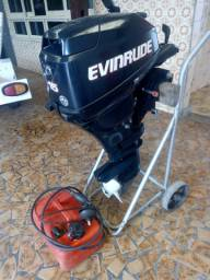 Evinrude 15 hp 4 tempos