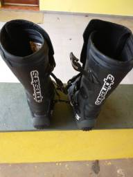 Bota motocross trilha/ tech3