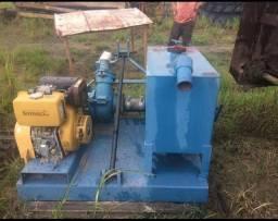 Draga  Buffalo  fal2  c/ plataforma para trator