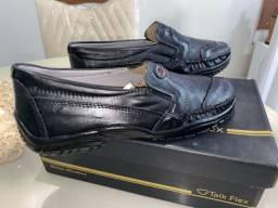 Sapato Social Preto T-42 Novo, Na Etiqueta