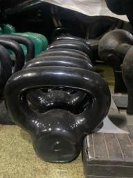 Kettlebell Emborrachado 4 6 8 10 12 14 16 18 20 22kg