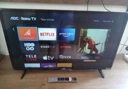 Smart tv aoc roku 32