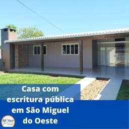 Casa com Escritura Pública em São Miguel do Oeste