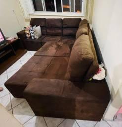 Vendo jogo de sofá retrátil e reclinável. Super barato