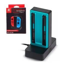 Carregador Dock Joycon - Nintendo Switch - Preto