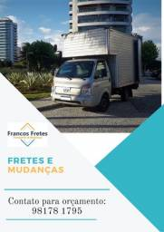 Título do anúncio: Fretes e Mudanças - Tijuca, Vila Isabel