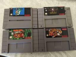 Fitas / Jogos de Super Nintendo SNES