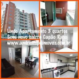 Maravilhoso Apartamento 114m² 3 Quartos (1 suite) 2 vagas exclusivas no Capão Raso