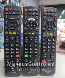 Controles Panasonic Tv Smart e LCD LED