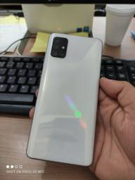 Galaxy A51 128gb branco, a vista 1000,00