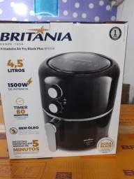 Fritadeira Air Fry Britânia Black Plus