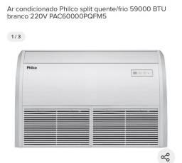 Título do anúncio: Ar condicionado Philco split quente/frio 59000 BTU branco 220V PAC60000PQFM5