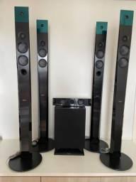 Caixas acústicas Home Theater 5.1 Sony
